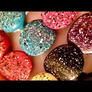 Jewelry - Pick 1 Pop Art Paint Splatter Cocktail Ring Artsy